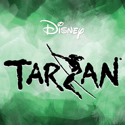 Disney's Tarzan poster artwork