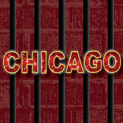The play Chicago's poster artwork