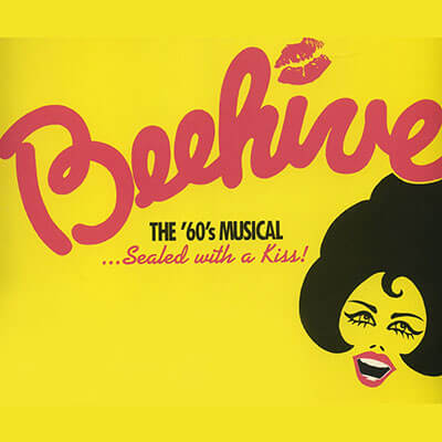 Beehive 60's Musical poster artwork