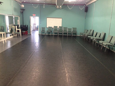 Georgetown Palace's Dance Studio